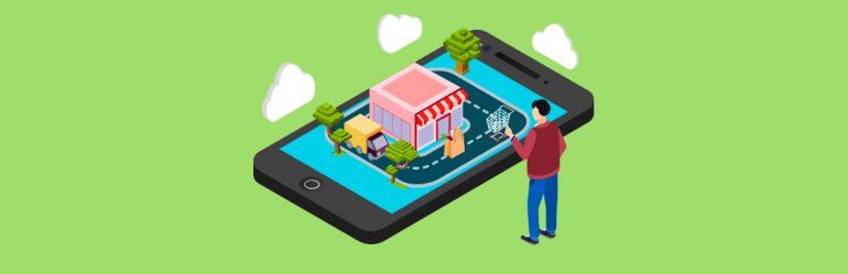 ilustração de um celular para ilustrar matéria sobre Infoprodutos