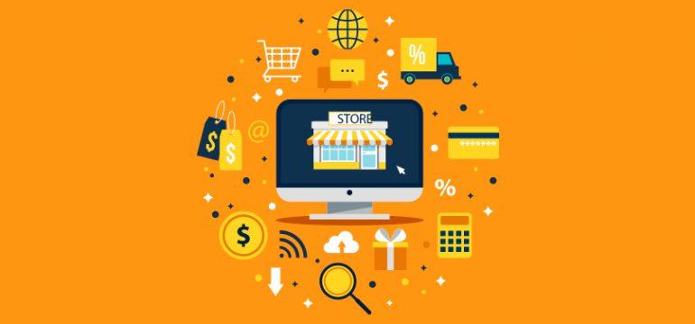 ilustração para matéria sobre produtos para vender na internet